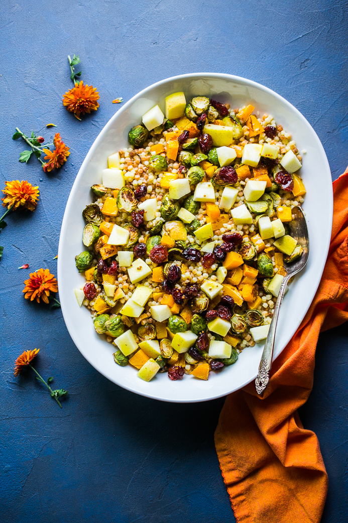 Autumn Fregola Salad