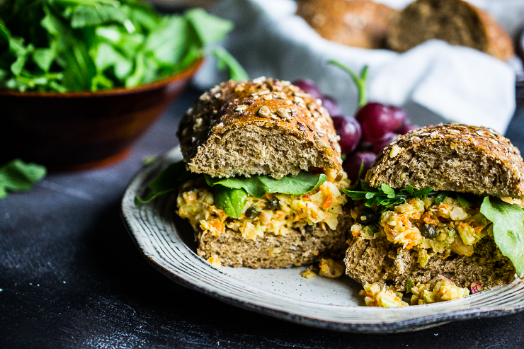 Our Favorite Chickpea Salad Sandwich