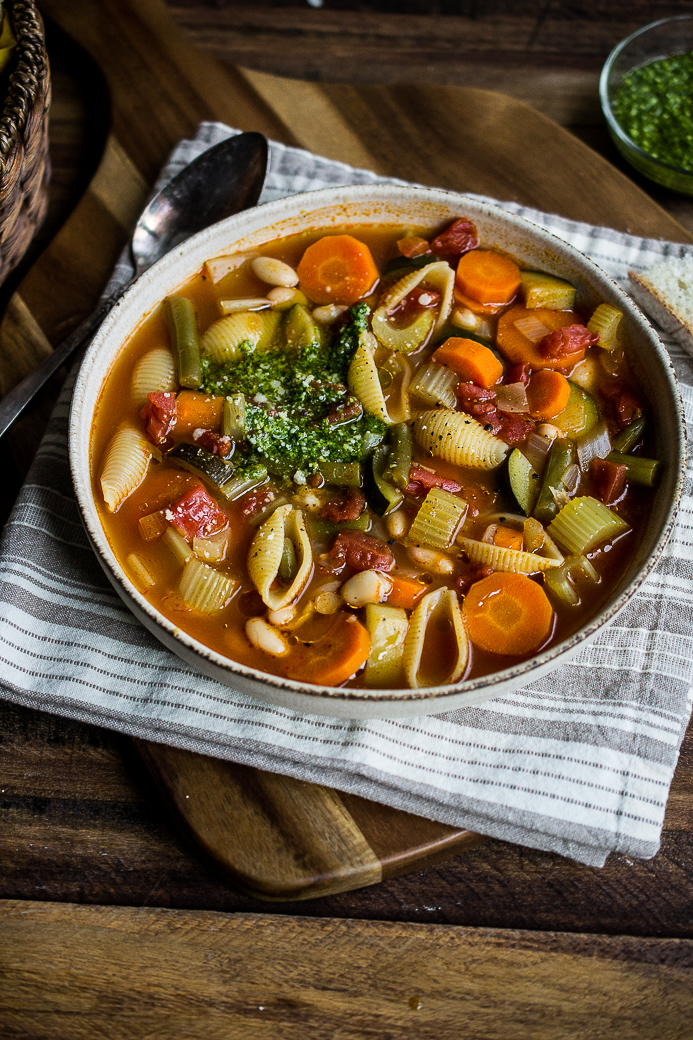 My Favorite Minestrone Soup