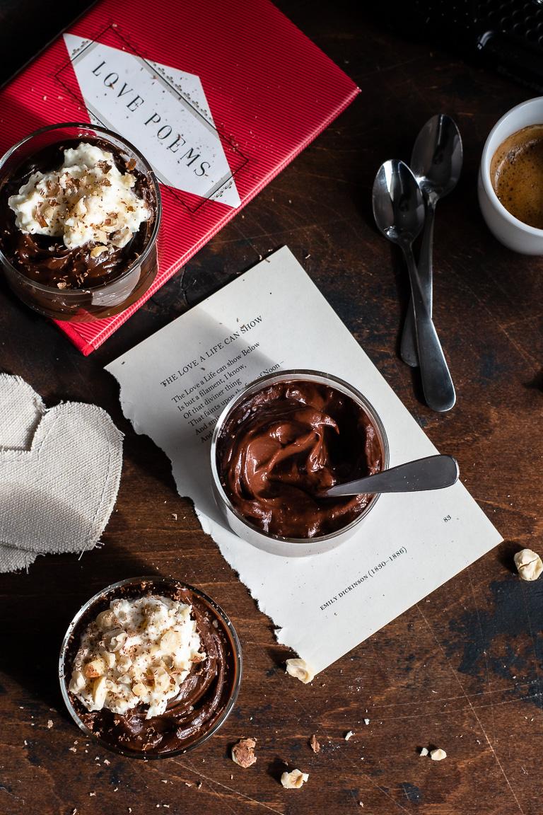 Chocolate Espresso Avocado Pudding