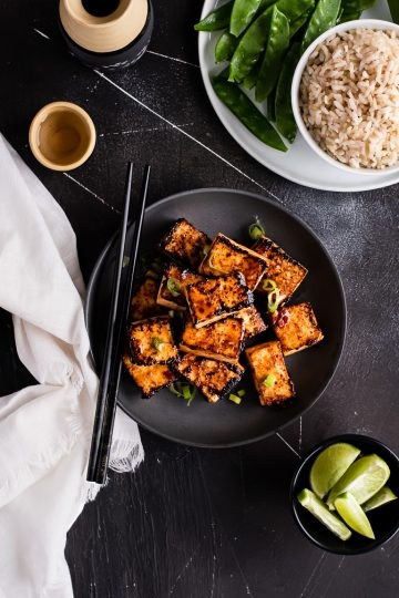 Sweet Chili Glazed Tofu