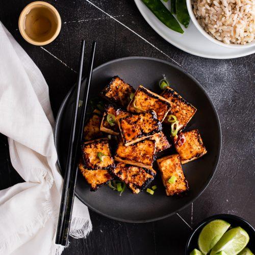 Sweet Chili Glazed Tofu