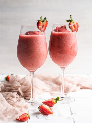 Strawberry Frose'
