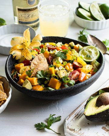Mango & Black Bean Salad