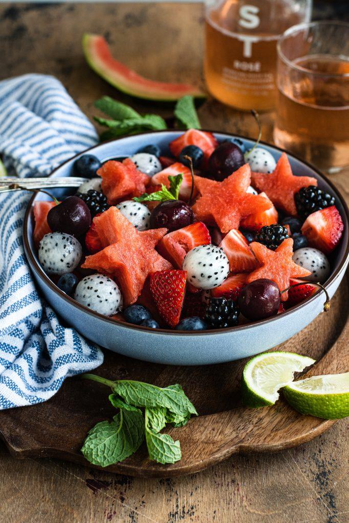 Patriotic Fruit Bowl