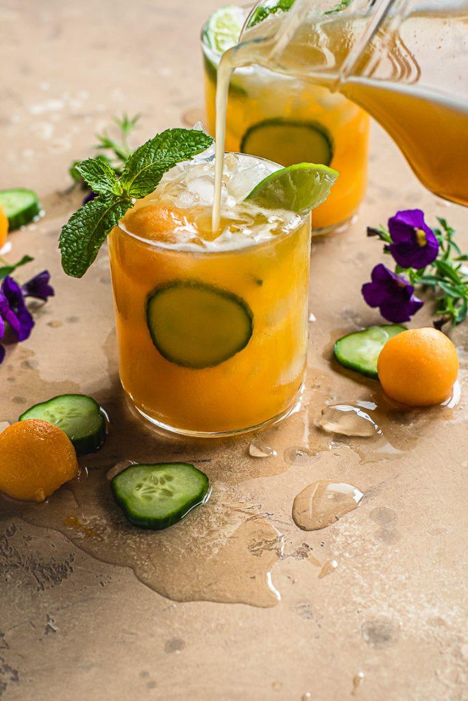 Cucumber Melon Aqua Fresca
