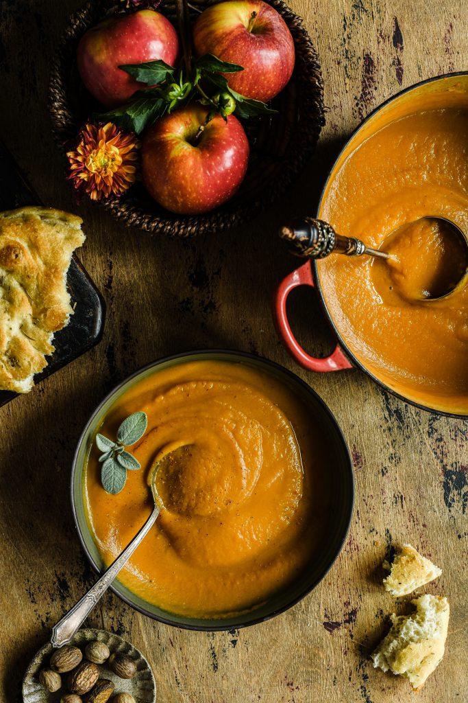 Sweet Potato Apple Soup